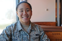 Airman Bianca Tran, 9th Force Support Squadron food services, poses for a photo Aug. 23, 2016, at Beale Air Force Base, Calif. (U.S. Air Force photo/ Senior Airman Ramon A. Adelan)