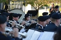The 34th Infantry Division Concert Band performs at the Minnesota Medal of Honor Memorial groundbreaking ceremony Oct. 3.