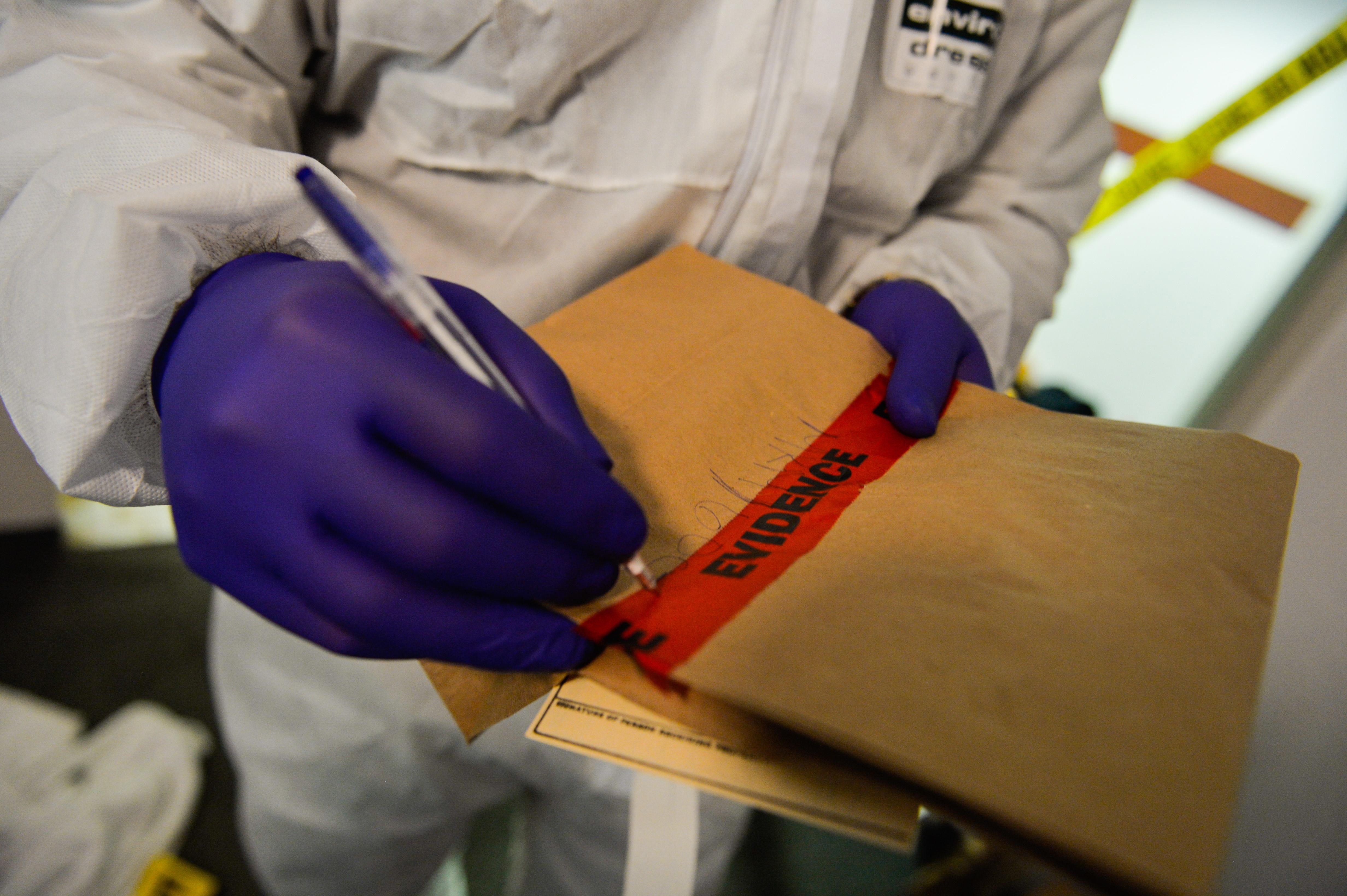 USAFE facilitators surprise AFOSI agents with mock crime scene