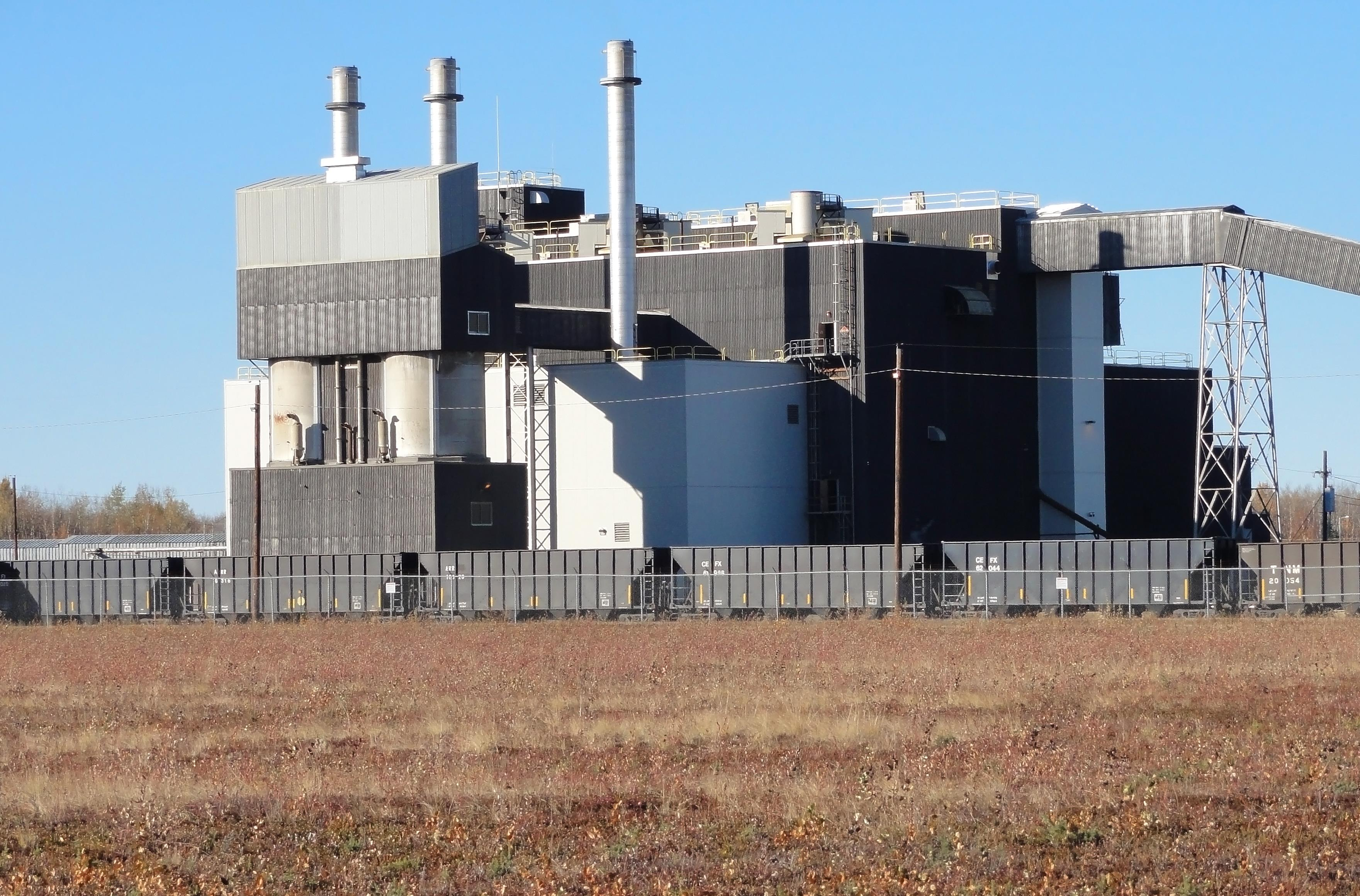 Out With The Old Clear Afs Closes Coal Plant Peterson Air Force What Is A Electrical