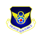 Eighth Air Force is located at Barksdale AFB, La.