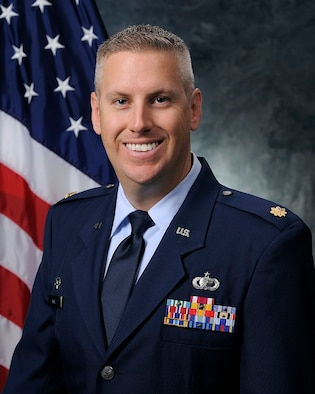 Maj. Neal Wall, 50th Contracting Squadron commander