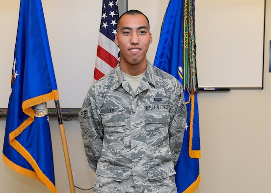 Airman 1st Class Shawn Lam, 50th Space Communications Squadron