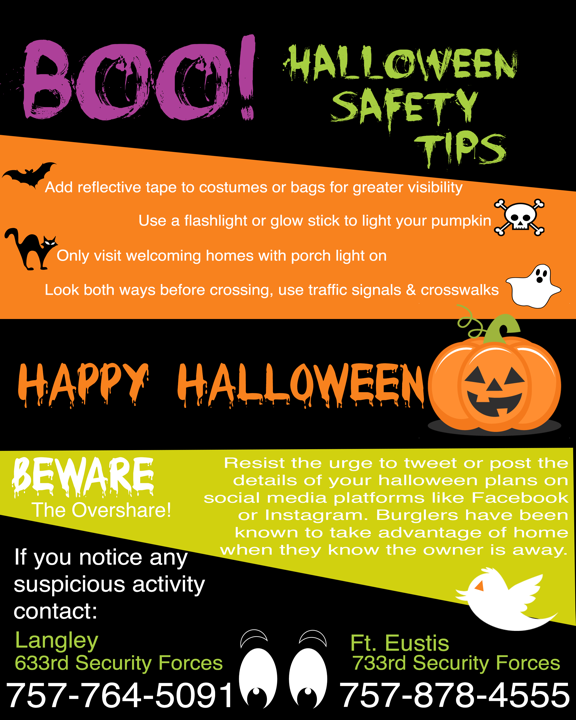 jble halloween safety gt joint base langley eustis gt news