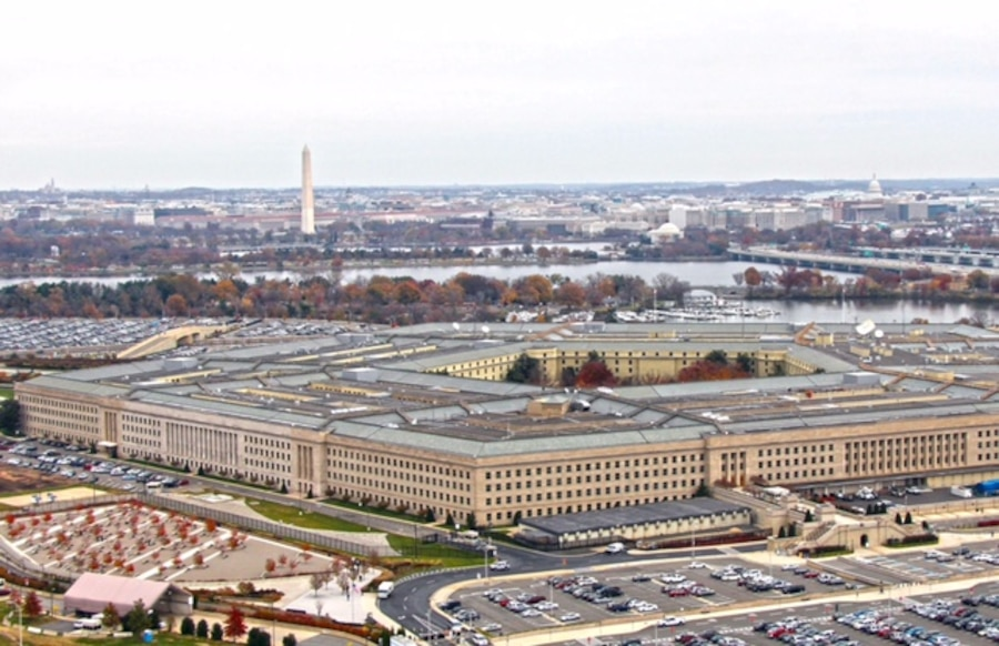 An aerial view of the Pentagon. DoD photo