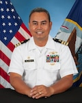 Navy Cmdr. Nolasco Villanueva assumed command of Defense Logistics Agency Distribution Yokosuka, Japan, in a ceremony on October 14.