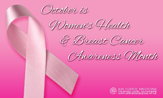 The mammography clinic at JBSA-Lackland's Wilford Hall Ambulatory Surgical Center will offer mammograms Oct. 26 from 8 a.m. to 3 p.m. At JBSA-Randolph, the 359th Medical Group will offer mammograms from 7:30 a.m. to noon and 1-3:30 p.m. every Friday during October as long as a provider submits a request.