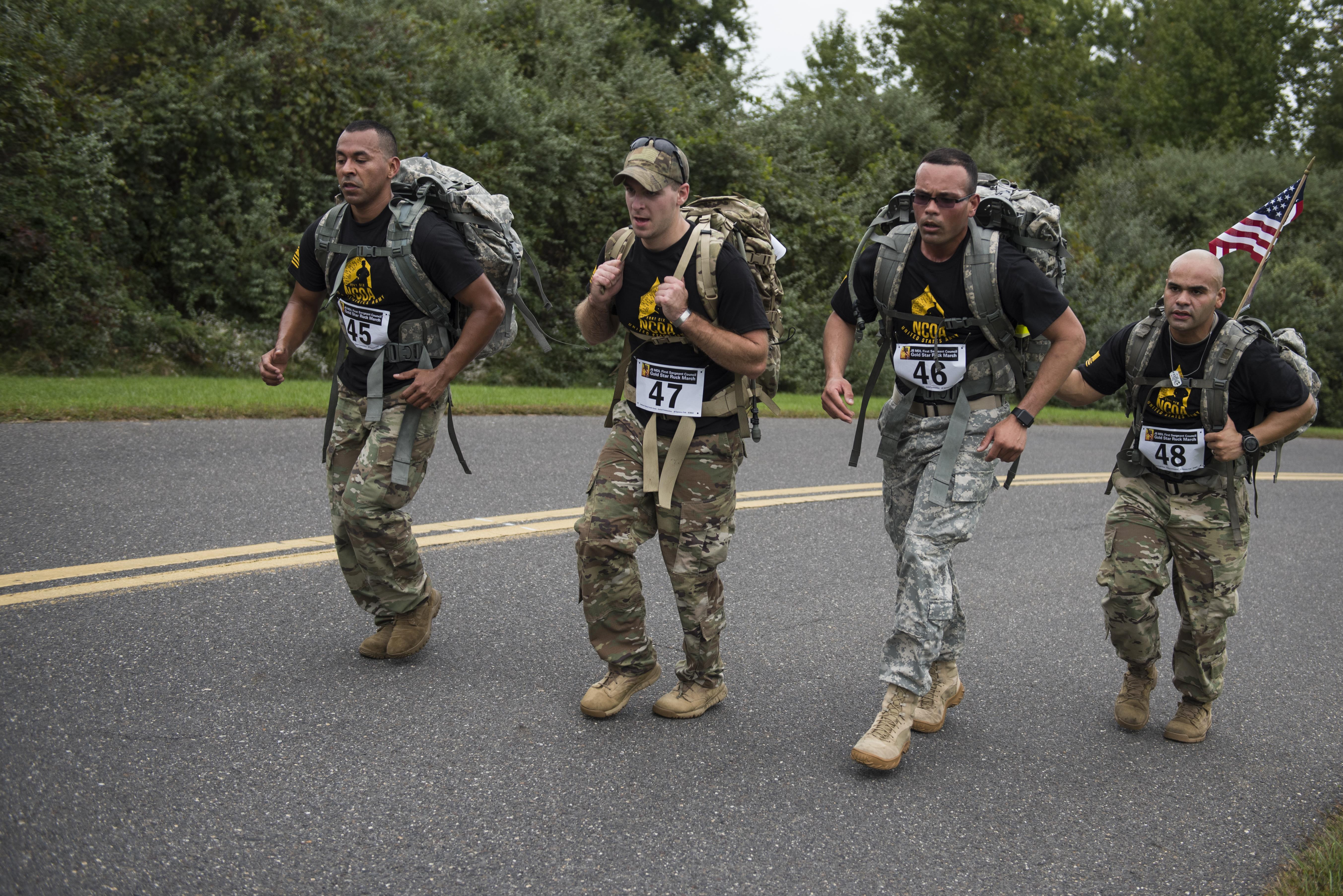 Ruck marches