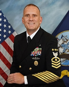 Official photo of Master Chief Petty Officer of the Navy Steven S. Giordano