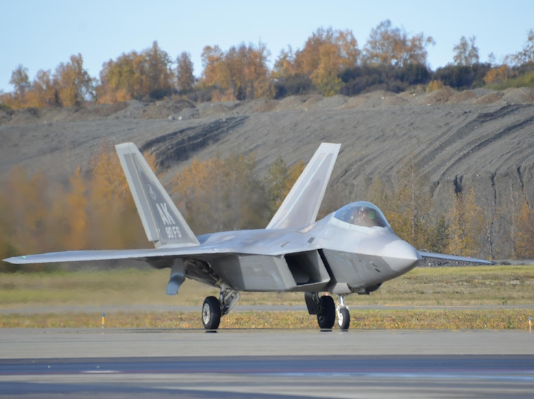 F-22 Raptor images from the 90th Fighter Squadron, October 2016 at Joint Base Elmendorf-Richardson, Alaska. (Photos by Staff Sgt. Mike Campbell) (Released)