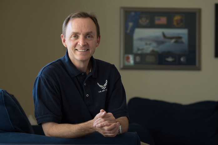 Retired Senior Master Sgt. Dan Quasius, spent more than three decades serving in the Air Force in the active duty and reserve. As a boom operator on KC-135 Stratotankers and KC-10 Extenders, Quasius saw the world and an amazing arsenal of American and international aircraft. He retired from the 349th Air Mobility Wing in 2013. (U.S. Air Force photo by Ken Wright)