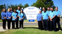 Balfour Beatty Communities staff at Dyess Air Force Base, Texas, Oct. 11, 2016. BBC is one of the two private owner partners of Dyess AFB. (U.S. Air Force photo by Airman 1st Class April Lancto)