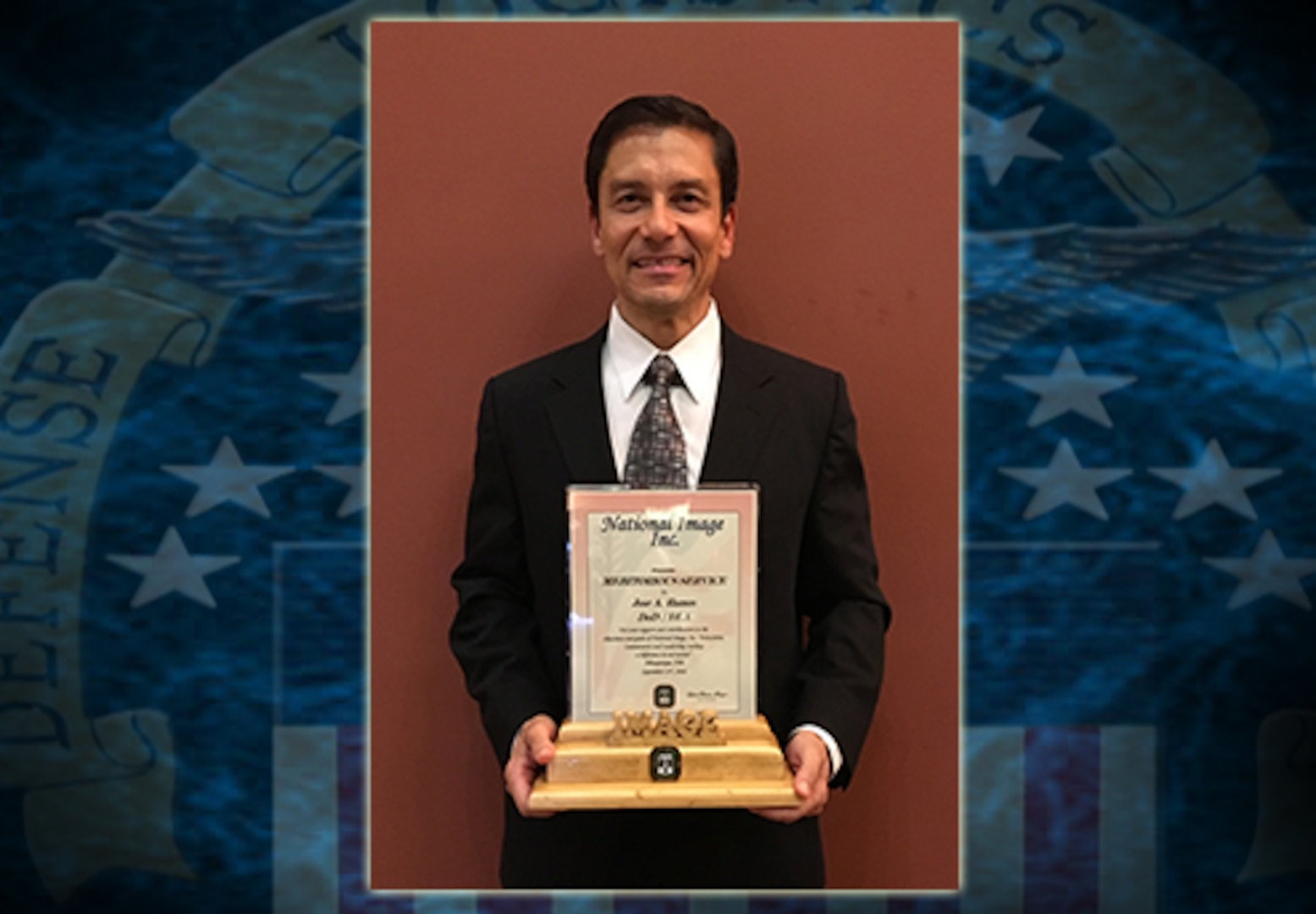 José Ramos is a pharmacist with DLA Troop Support's Medical supply chain and earned a National Image Meritorious Service Award for promoting diversity in the workplace.