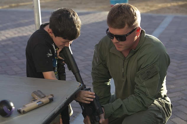 Combat Center PMO hosts Night Out Against Crime > Marine ...