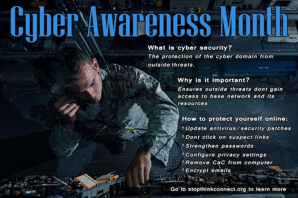 October is the month to brush up on online safety as it marks the beginning of National Cyber Security Awareness month.