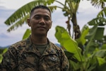 Navy Petty Officer 2nd Class Jose Antonio, a native of San Jose, Calif., and a biomedical technician with the community health engagement group attached to Bravo Company, 9th Engineer Support Battalion, 3rd Marine Logistics Group, 3rd Marine Expeditionary Force, poses for a photograph while supporting Philippine Amphibious Landing Exercise 33 in Cagayan Valley, the Philippines, Oct. 10, 2016. Marine Corps photo by Cpl. Allison Lotz