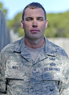 "U.S. Air Force Tech. Sgt. Brian Wirt, 325th Civil Engineer Squadron explosive ordinance disposal team lead, recently earned the distinguished graduate award while attending the Sabalauski Air Assault School at Fort Campbell, Kentucky, July 2016. The school is hosted by the 101st Airborne Division, also known as the ""Screaming Eagles,"" and consists of three primary areas of instruction: combat assault operations, sling loading (helicopter cargo transportation) and rappelling. (U.S. Air Force photo by Tech. Sgt. Javier Cruz/Released)"