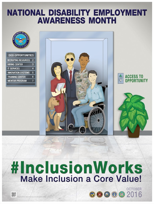October is National Disability Employment Awareness Month and is a time to recognize the many and significant contributions workers with disabilities have made. It also serves as an opportunity to reaffirm a commitment to recruit, retain and advance people with disabilities in the workforce.