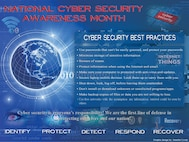 National Cyber Security awareness month infograph