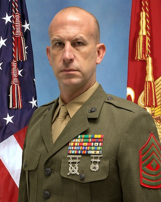 First Sergeant, Headquarters Battery, 2nd Battalion, 14th Marine Regiment