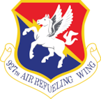 927th Air refueling Wing patch
