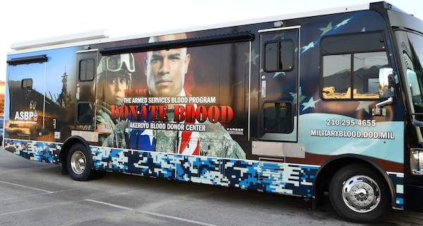 In September, the Akeroyd Blood Donor Center received a new blood mobile. The new state-of-the-art mobile will be used by the donor center to reach out to the Joint Base San Antonio-Fort Sam Houston permanent party population to collect plasma for the freeze-dried plasma program.