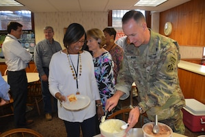 Major General Michael Wehr and other MVD leaders hosted an Ice Cream social for the MVD staff the first week of October. The social is a yearly tradition that allows the leadership to serve the MVD staff as a symbol of their appreciation of the team's hard work the previous fiscal year!