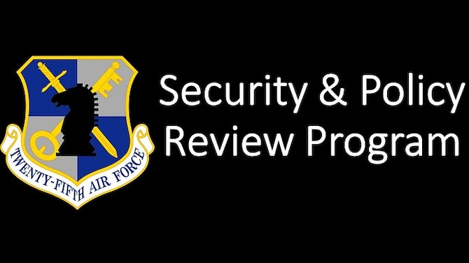 25th Air Force Security and Policy Review Program Icon