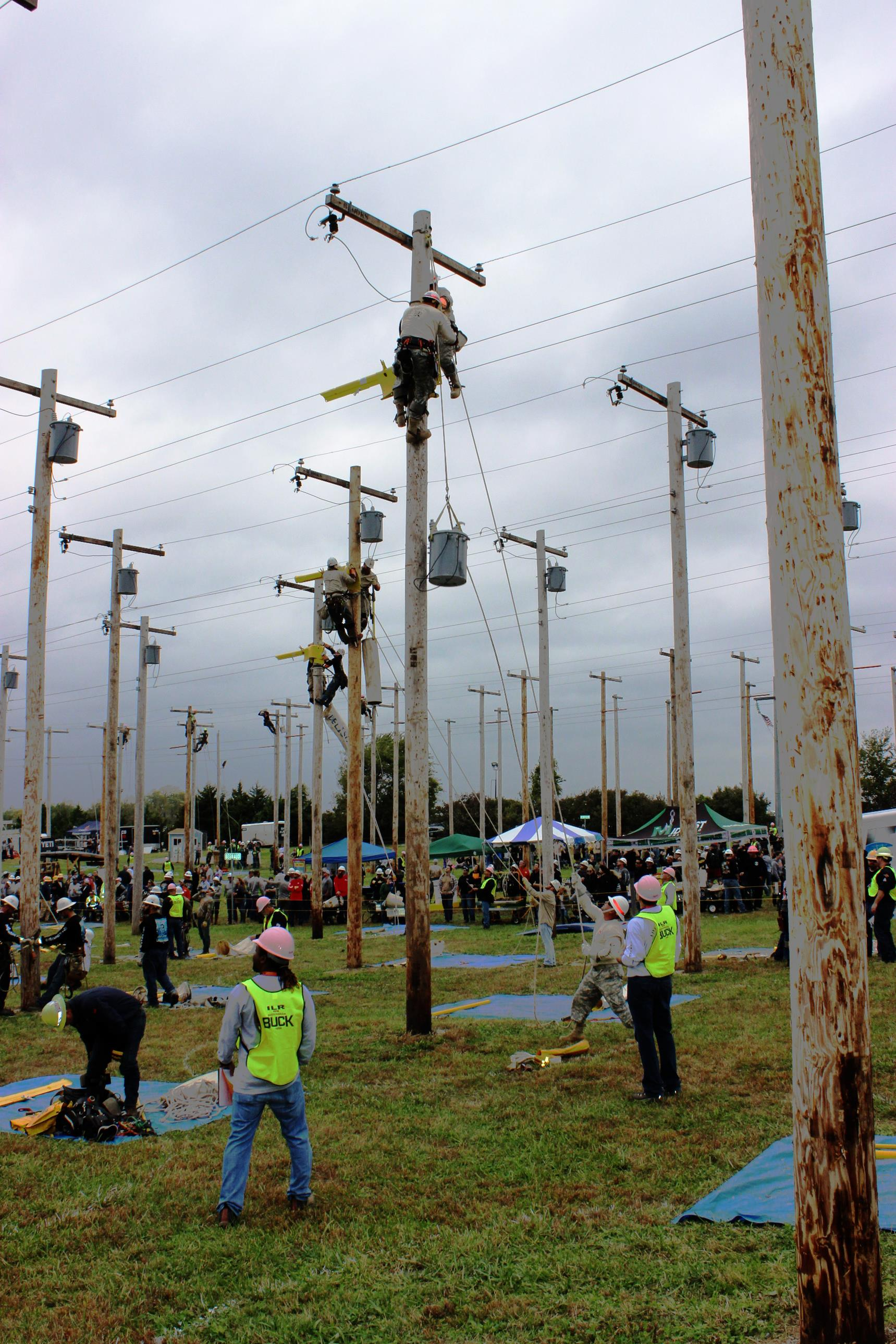 Corps Power Team Claims 1st Place At Lineman Rodeo
