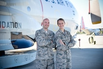 Tech. Sgts. Justin and Abby Carkner were married Aug. 20, 2016. They met four years earlier during a Unit Training Assembly while in line at the Dining Facility. Justin is with the 109th Logistics Readiness Squadron, and Abby is with the 109th Medical Group. (U.S. Air National Guard photo by Master Sgt. William Gizara/Released)