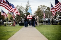 Medal of Honor recipient Master Sergeant Richard A. Pittman was laid to rest in Lodi, Calif., Oct. 24, 2016. Master Sgt. Pittman passed away on Oct. 13, 2016. He served with 3rd Battalion, 5th Marines during the Vietnam War and earned the Medal of Honor for his relentless fight against the enemy on Jul. 24, 1966 that advanced his platoon's position and saved many of his fellow Marines' lives.
