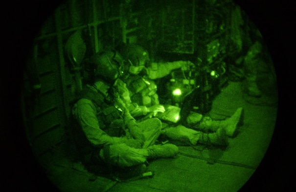 Intelligence, Surveillance and Reconnaissance Airmen execute missions aboard special operations aircraft. U.S. Air Force Photo
