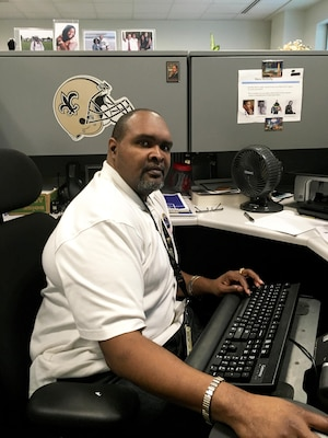 Frank Moses of DLA Human Resources is the DoD Outstanding DoD Employee with a Disability for 2016.
