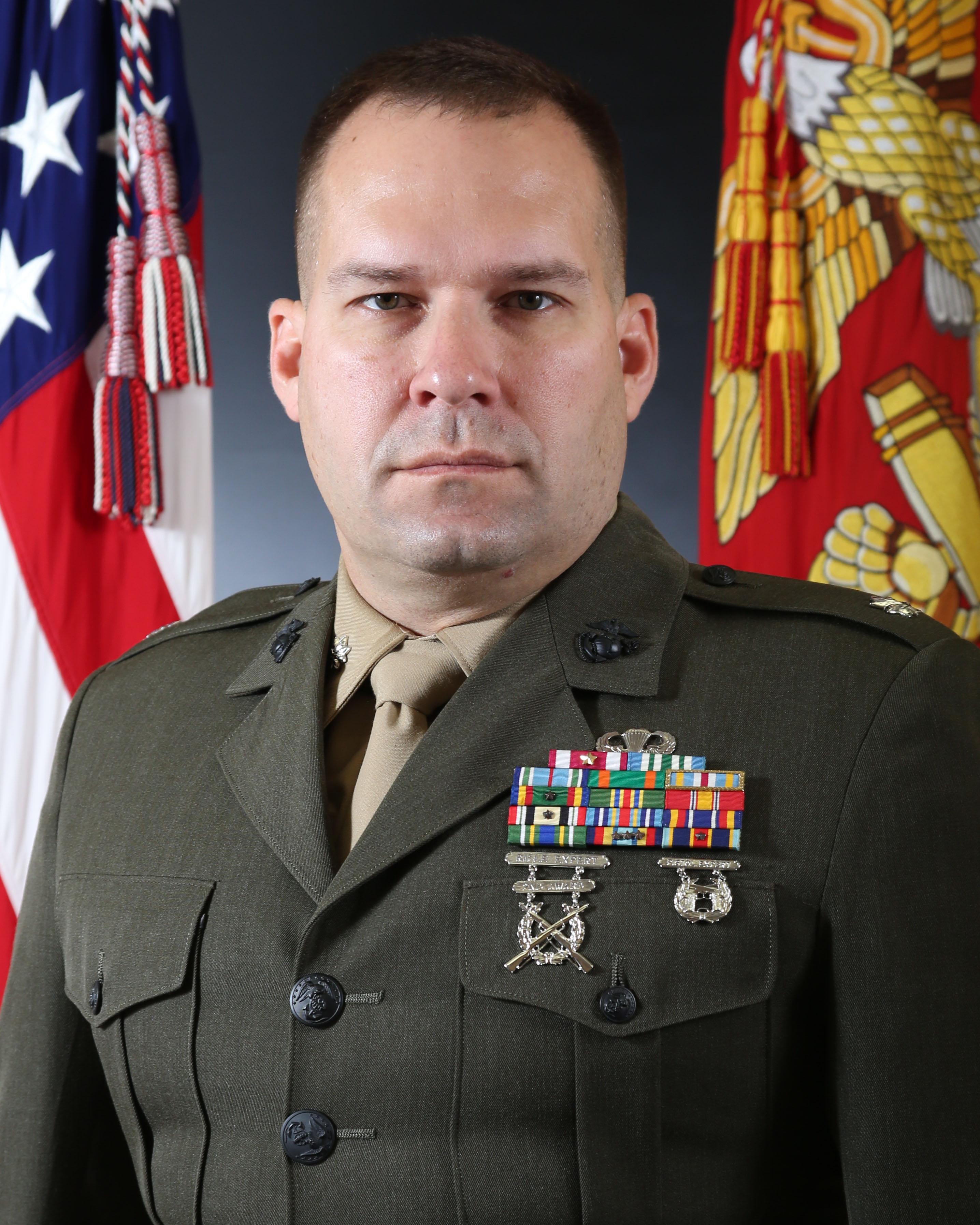 lieutenant colonel bradley p  bean  u0026gt  ii marine