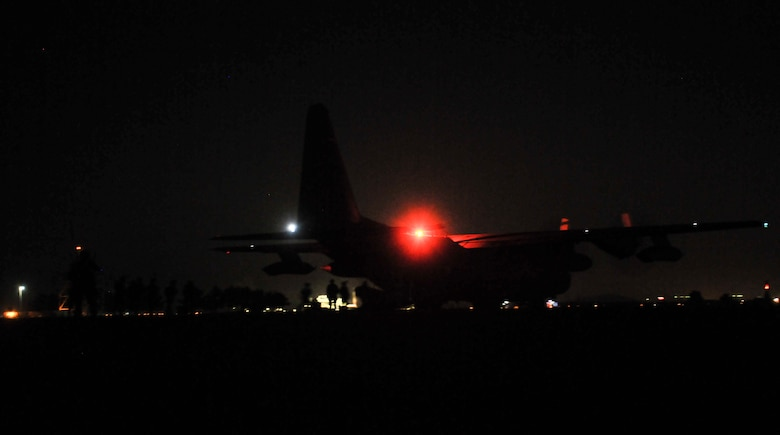 U.S. Air Force combat controllers assigned to the 1st Special Operations Squadron, 320th Special Tactics Squadron and Republic of Korea (ROK) 255th Special Operations Squadron, board a U.S. Air Force MC-130H Combat Talon II, assigned to the 353rd Special Operations Group at Kunsan Air Base, Republic of Korea, Oct. 22, 2016. Members from the 320th STS and 1st SOS worked with the ROK 255th SOS to enhance U.S. and ROK Air Force Special Operations Forces' capabilities. They conducted infiltration methods, jump clearing team operations, airfield establishment, aircraft control and close air support familiarization. (U.S. Air Force photo by Senior Airman Colville McFee/Released)