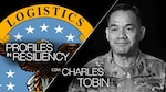 Dealing with the deaths of soldiers under his command was a serious challenge in the life of Army Command Sgt. Maj. Charles Tobin.