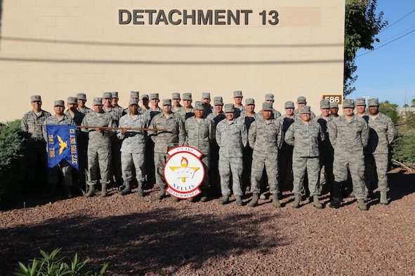 The 372nd Training Squadron's Detachment 13 is comprised of 33 instructors spanning 15 Air Force Specialty Codes.