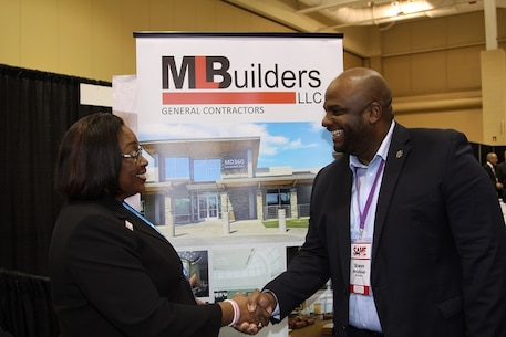 The Charleston District Small Business team works with small businesses of all designations to explain how to work with the federal government and procure contracts for jobs. We meet with small business representatives at conferences throughout the year and have exceeded our small business goals five years in a row.