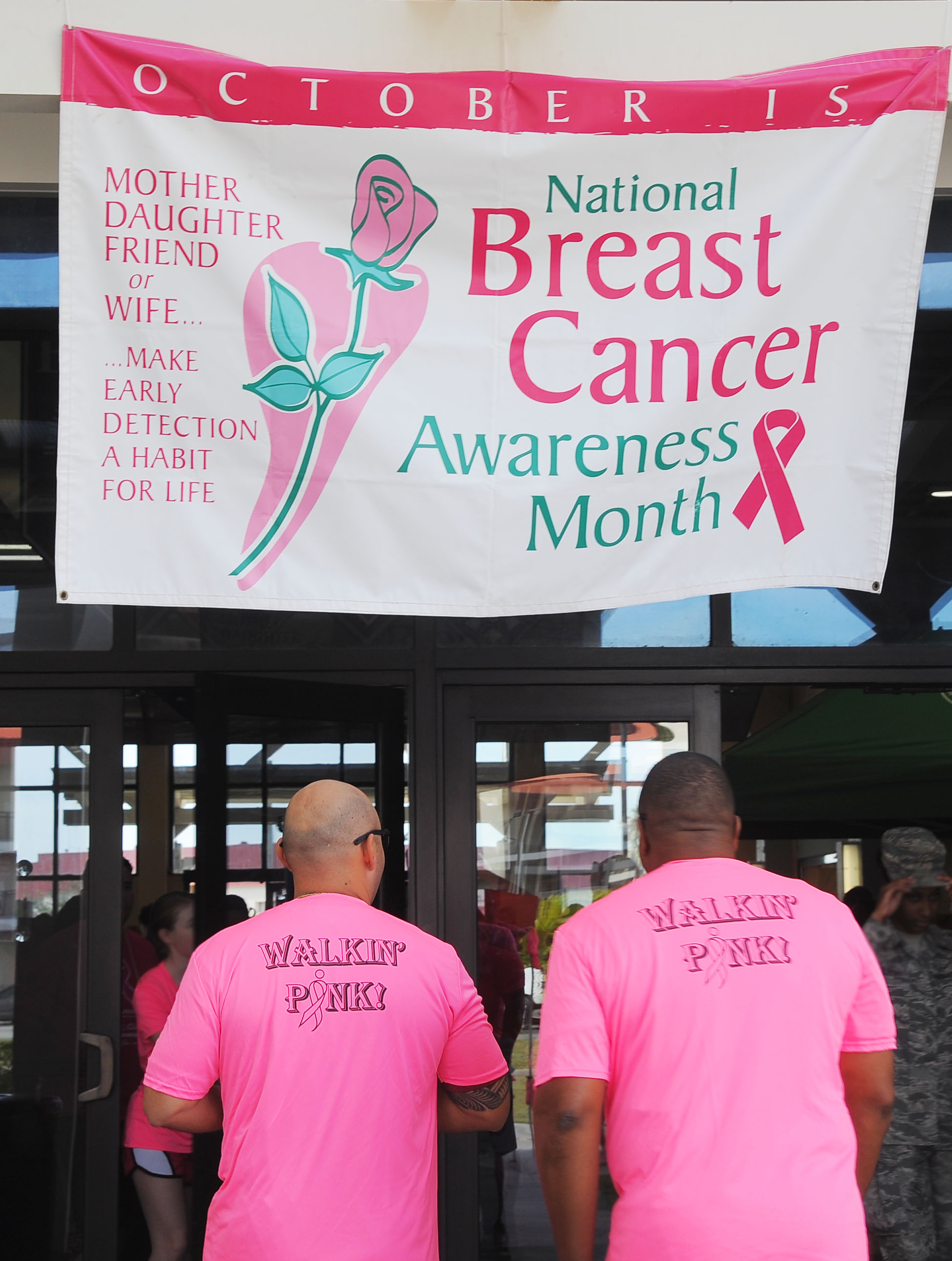 Walk for life for breast cancer