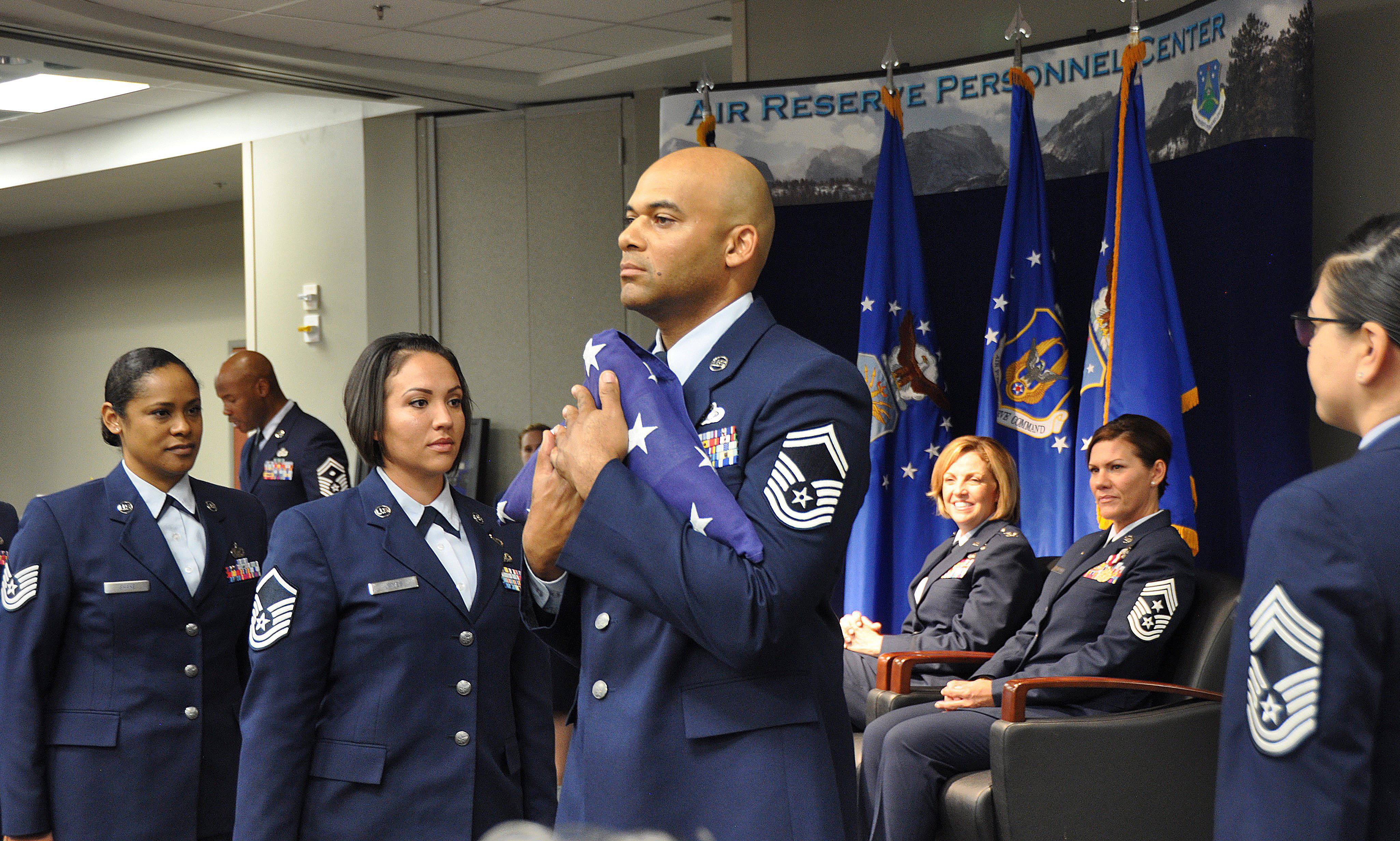 ARPC Command Chief celebrates 28 years of AF service > Air