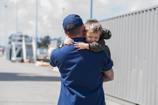 Petty Officer 3rd Class, a maritime enforcement specialist aboard the Coast
