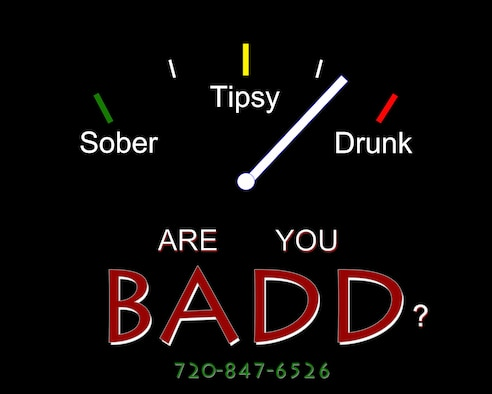 Buckley Against Drunk Driving is a volunteer program that provides a safe and reliable alternative for all of Team Buckley to arrive home safely. This program is available on Friday, Saturday, Sunday and during special events for anyone on the installation, spouses and Department of Defense card holders. (U.S. Air Force graphic by Senior Airman Racheal E. Watson/Released).