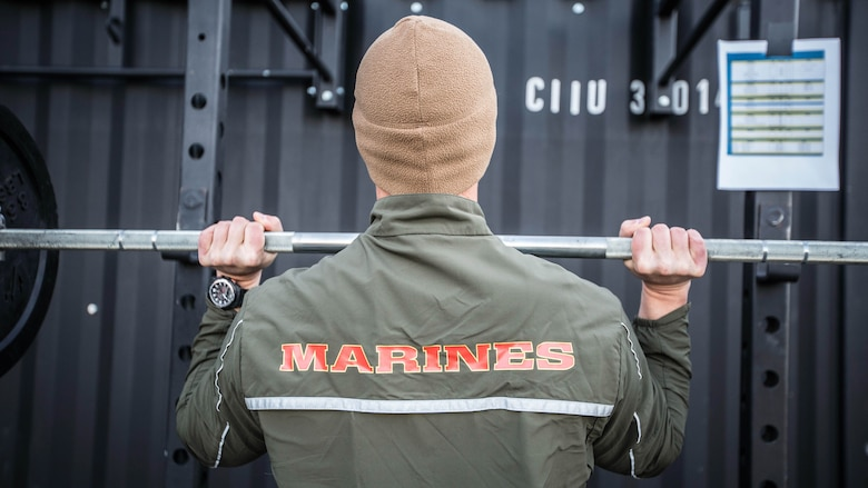 A Force Fitness Instructor (FFI) student executes a press during the practical application portion of the course at Marine Corps Base Quantico, Virginia, October 25, 2016. The FFI course is made up of physical training, classroom instruction and practical application to provide the students with a holistic approach to fitness. Upon completion, the Marines will serve as unit FFIs, capable of designing individual and unit-level holistic fitness programs.