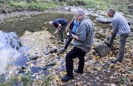 During an Oct. 18 visit to Pittsburgh District, the Environmental Advisory Board toured the Nine Mile Run Watershed,  a successful urban aquatic ecosystem restoration project undertaken in 2006 by the district and its partner the city of Pittsburgh.