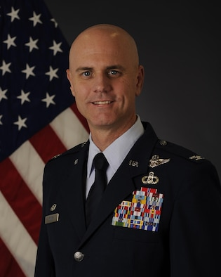 Col. Jon F. Berry, 1st Air Support Operations Group commander.