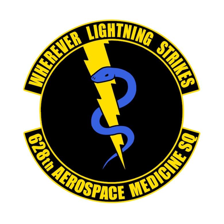 628th Aerospace Medicine Squadron emblem.