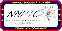 Naval Nuclear Power Training Command logo.