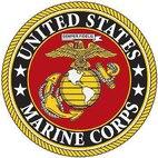 U.S. Marine Corps logo.