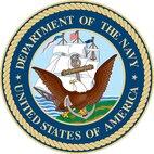U.S. Navy emblem.