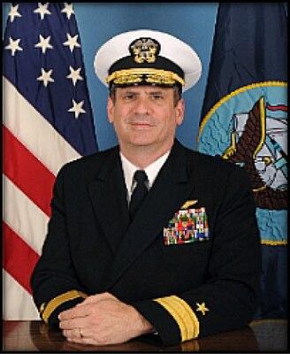 "Rear Admiral Jeffrey ""Jeff"" Ruth, Commandant, JFSC"
